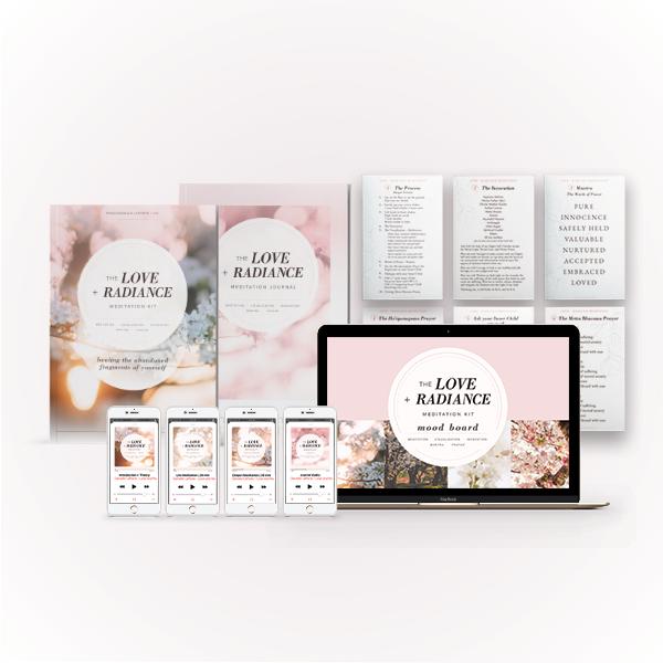 Copy of The Love + Radiance Meditation Kit (Friend Bundle)