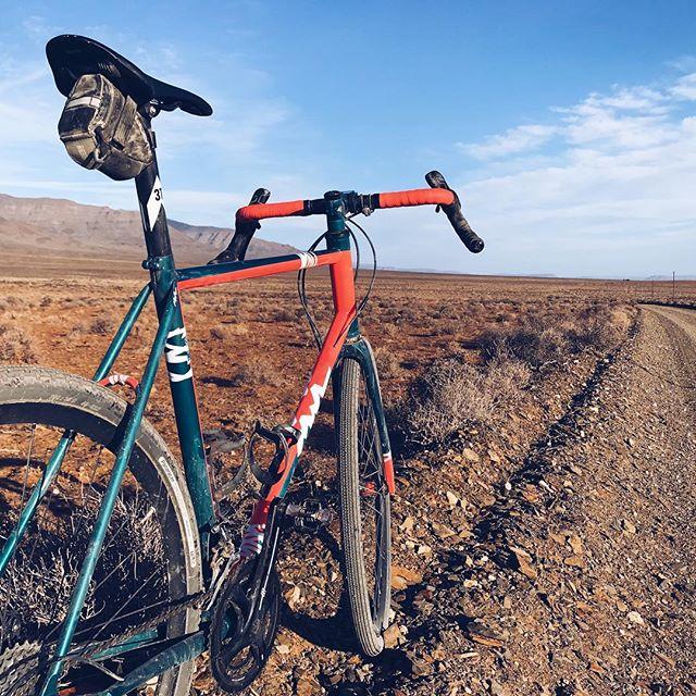 Our new all-road model out where it belongs in the dirt. #gravelbike #gravelgrinder #whereiride #allroad #vsco