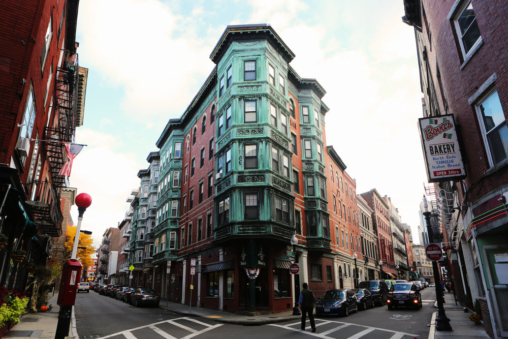 The North End, Boston.