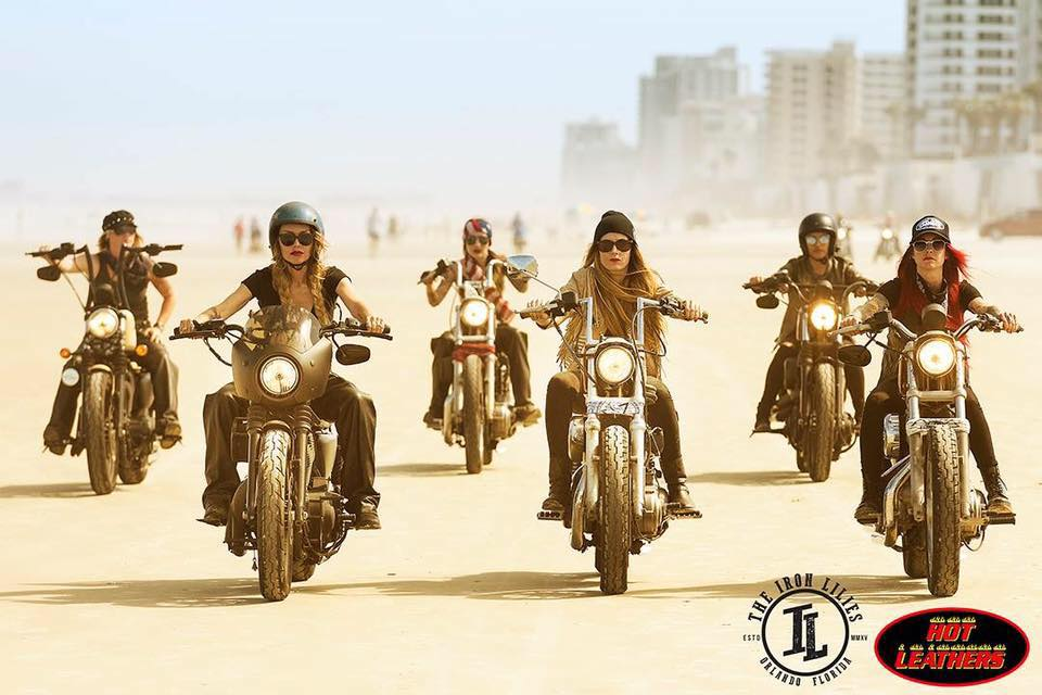 The Iron Lilies for Hot Leathers shot by Michael Lichter