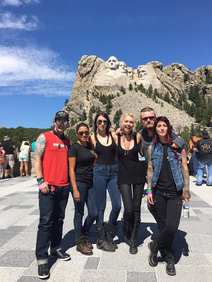 Up close and personal to Mt. Rushmore with Billy Duffy (The Cult) and Master Chef Johhny Iuzzini!