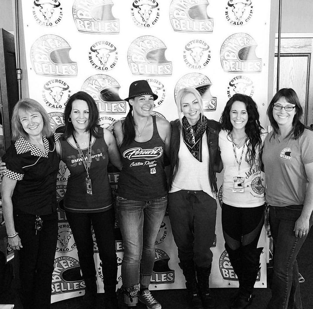 Biker Belles Panel at the Buffalo Chip.