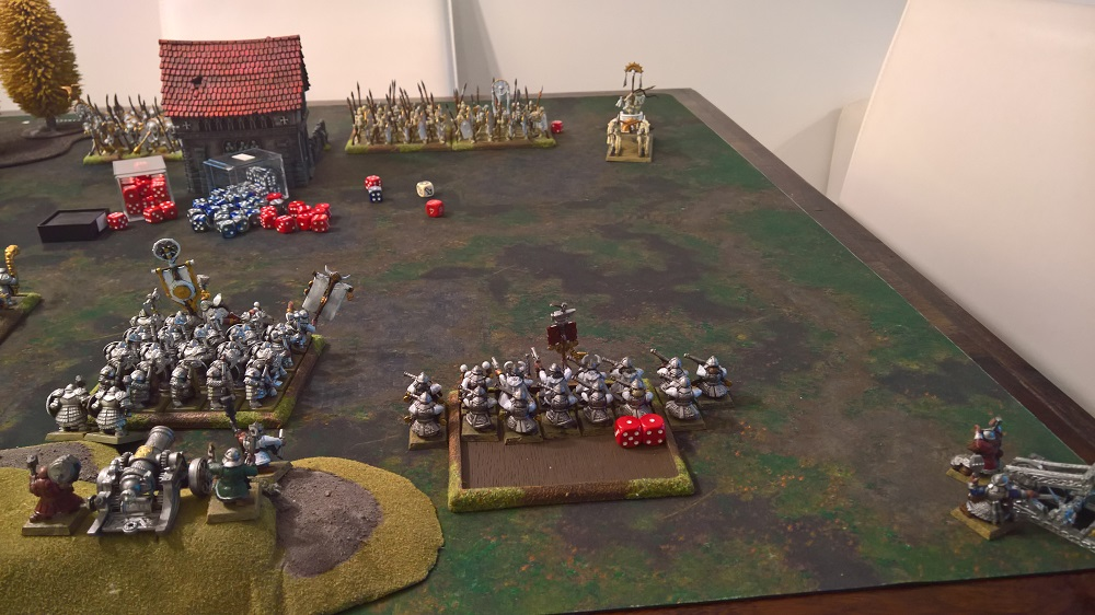 Chariots are down to 1 model!