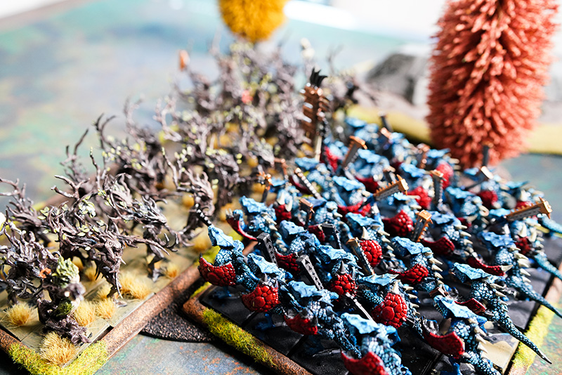 warhammer-fantasy-battle-report-lizardmen-vs-wood-elves-combat-1