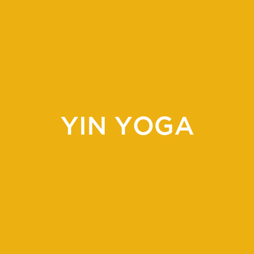 Yin yoga is a slower paced style of yoga where poses are held from 3 to 5 minutes. The long held poses target a deep release in the connective tissues and fascia (rather than the muscles that are targeted in a more active practice). While Yin is a more passive practice, it can be challenging due to the length of time a posture is held. The long held postures encourage a focus on mindfulness meditation by using the body to stay present. Yin is suitable for all levels and is adaptable to all body types through use of props. It is a perfect complement to more active styles of exercise as it encourages the slow and safe opening of connective tissues, leaving the yogi with an overall feeling of lightness, spaciousness and peace.