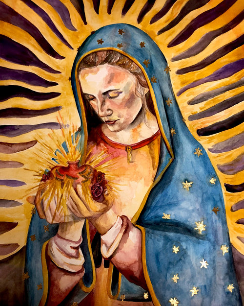 Our Lady Of Guadalupe Leanne Bowen