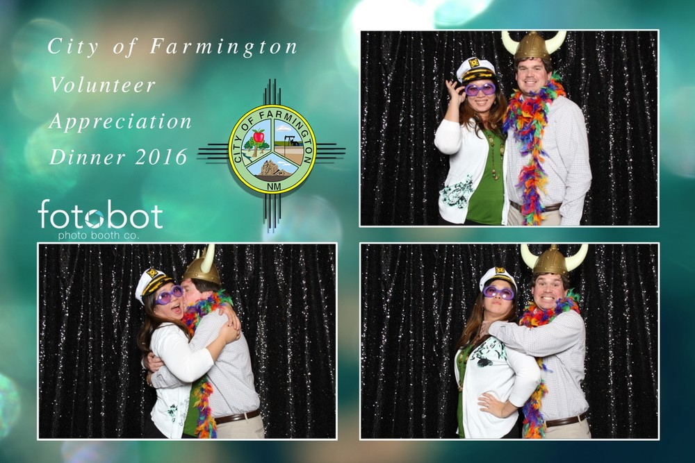 ALBUQUERQUE, NM // PHOENIX, AZ // FOTOBOT PHOTO BOOTH // VOLUNTEER APPRECIATION // CITY OF FARMINGTON