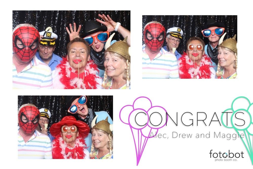 ALBUQUERQUE, NM // PHOENIX, AZ // FOTOBOT PHOTO BOOTH // ALEC, DREW, MAGGIE GRAD PARTY