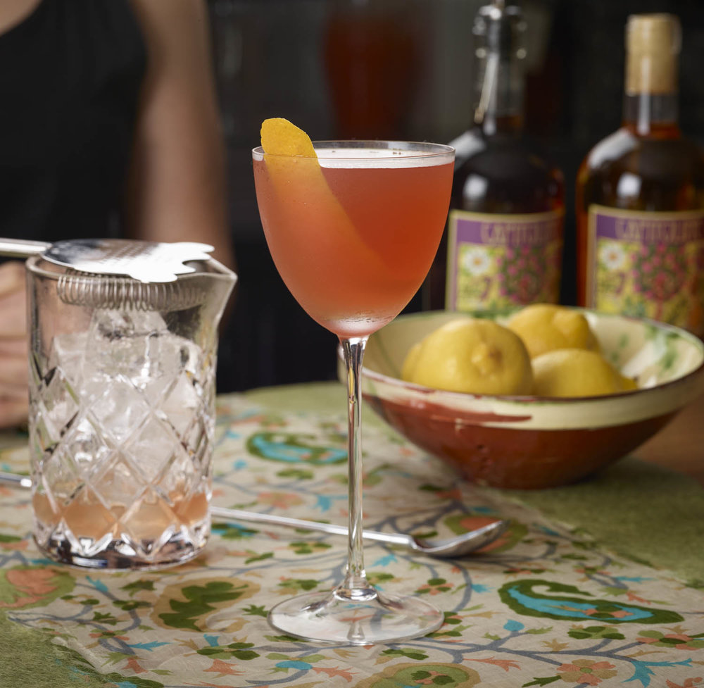 Old Pal - 1oz Capitoline Dry Vermouth1oz Capitoline Tiber1oz ryeStir, strain into chilled coupe. Garnish with lemon peel.