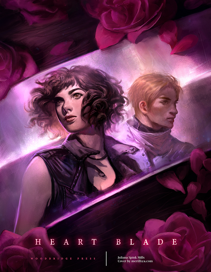 Book 1: Heart Blade | Print Available