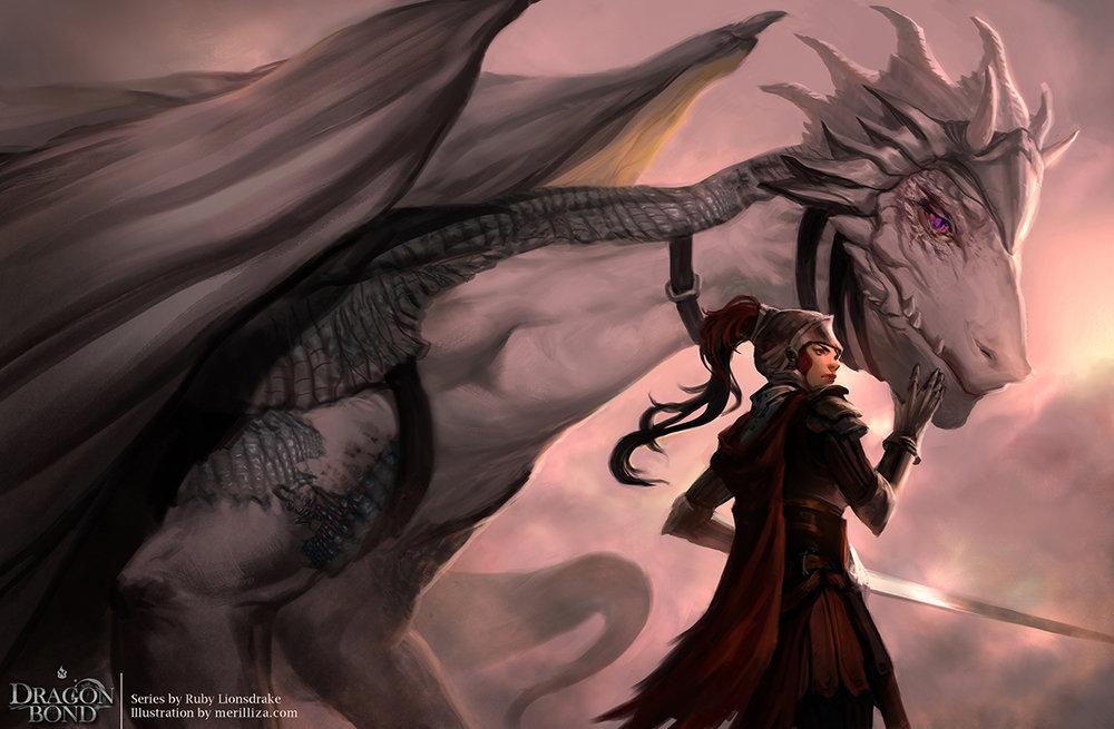 Ruby Lionsdrake Book 1: Dragon Bond |Print Available