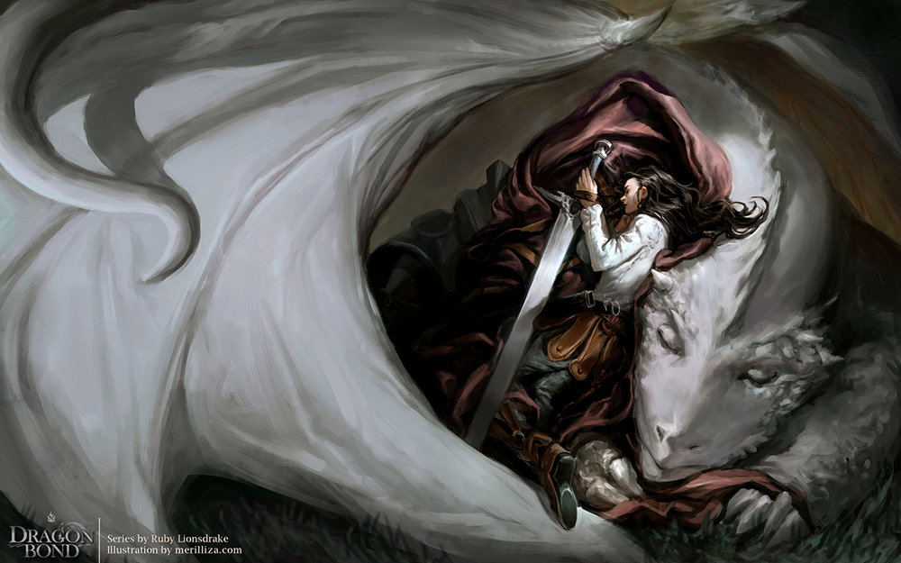 Ruby Lionsdrake Book 2: Dragon Bond | Print Available