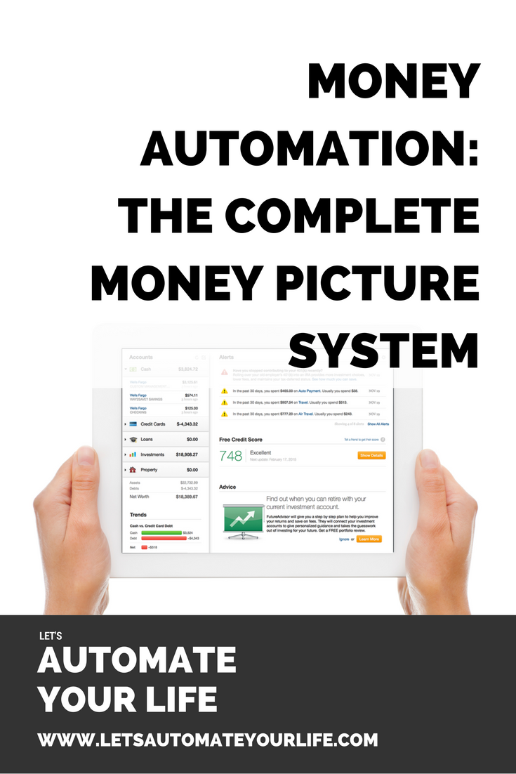 Money Automation - The Complete Money Picture System