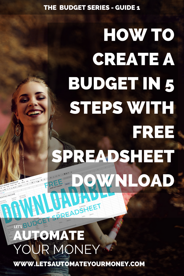 How to Create a Budget in 5 Steps with Spreadsheet Download