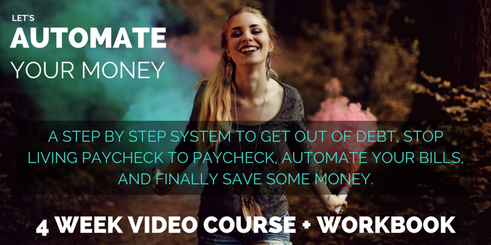 Let's Automate Your Money Course Giveaway!