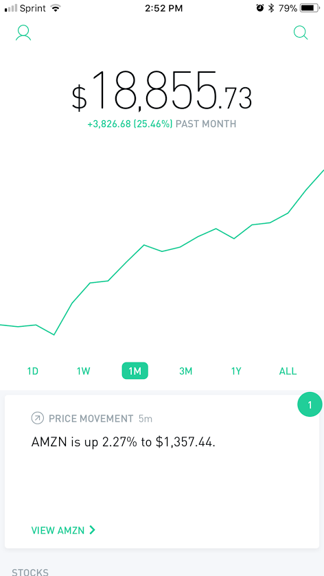 THAT BADASS STOCK PORTFOLIO UP 25% IN 1 MONTH