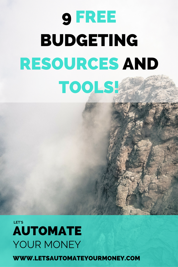 9 FREE BUDGETING RESOURCES AND TOOLS