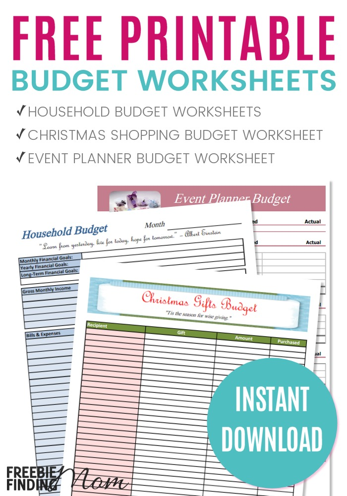 Printable Budget Worksheet | Budgeting Sheets Free Printable Besik Eighty3 Co