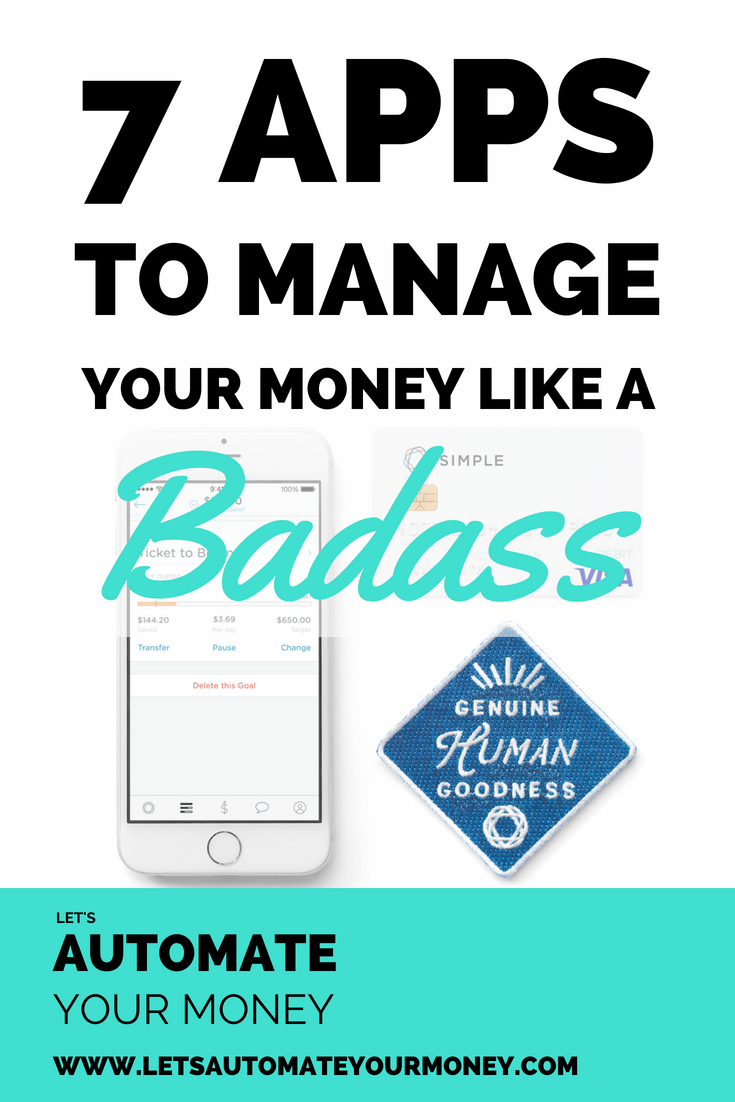 7 Apps to Manage Your Money Like a Badass