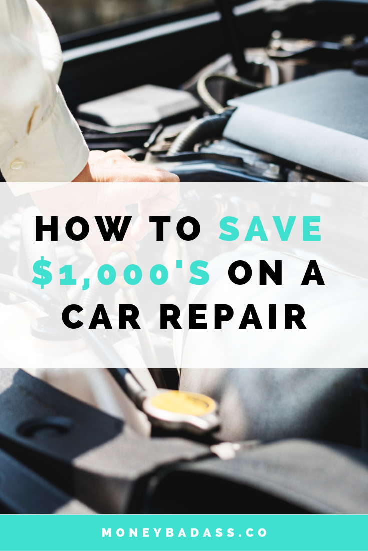 How To Save $1,000's On A Car Repair