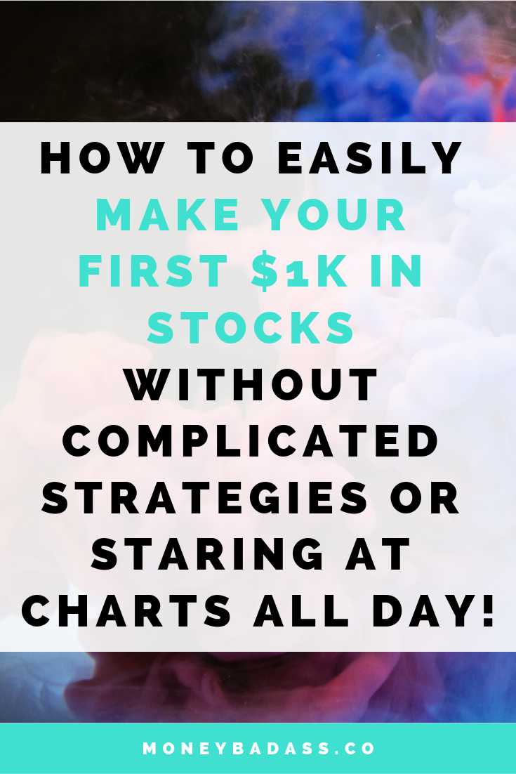 How to Easily Make Your First $1k In Stocks