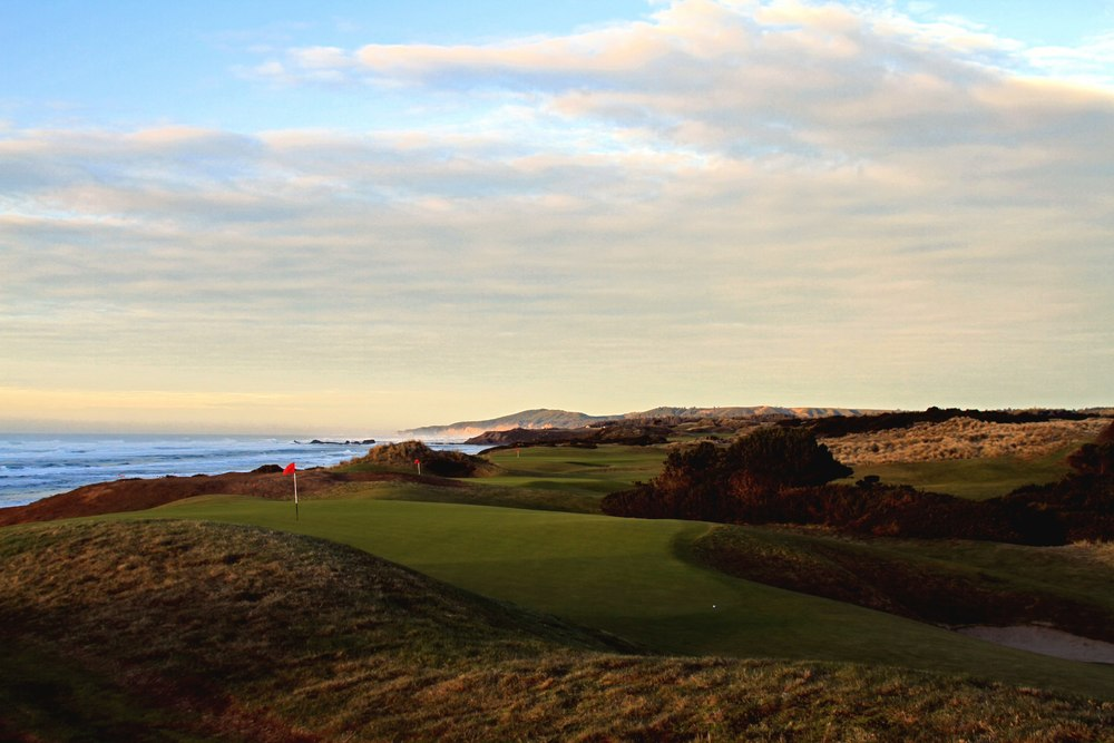 Bandon Dunes #15 #12 and #4 Behind