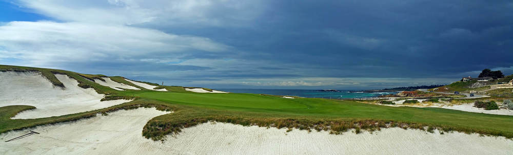 13th Green Cypress Point