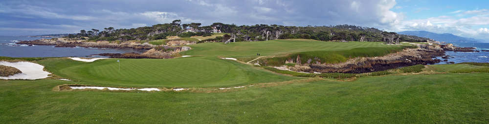 16th Green 17tee Cypress Point (no players)