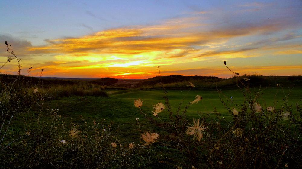 Sunset Over Ballyneal