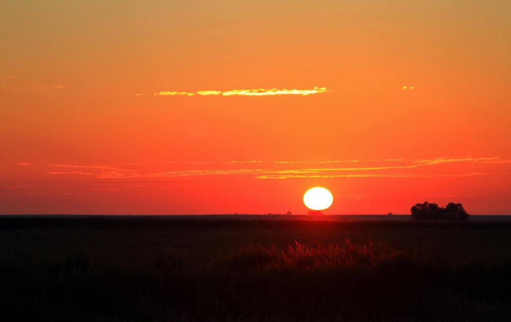 Sunset Over the Heartland