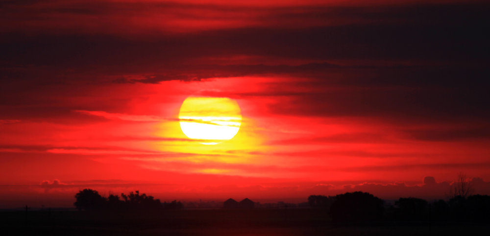 Sunset Eastern Colorado