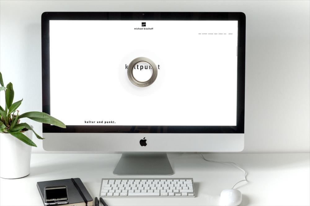 Homepage Landing Page Michael Bischoff Kultpunkt