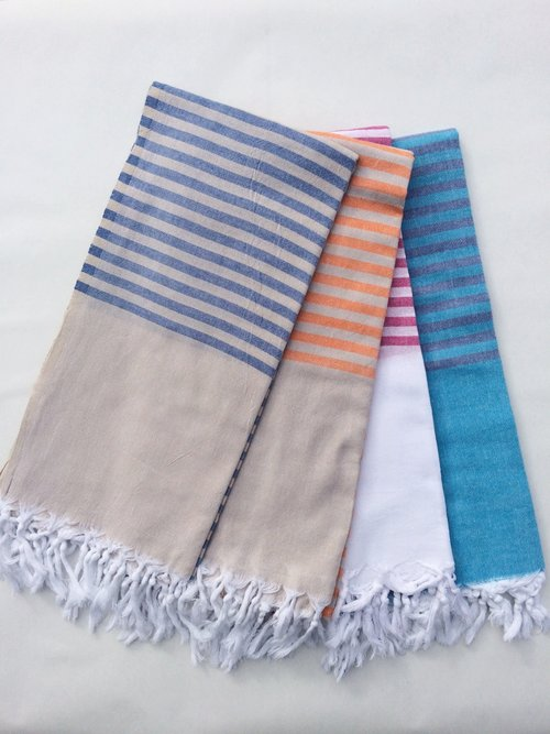 Turkish Bath Towel Lightweight Fresh Preppy The Whirling Girl