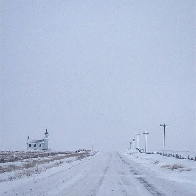 Phillips County, Montana :: Scandia Lutheran Church. #cold #scandiachurch