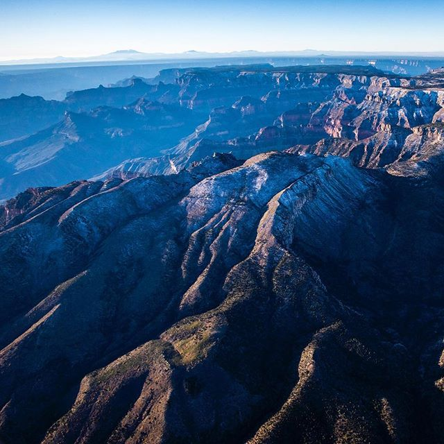"I'm posting this gorgeous image of the Grand Canyon by my dear friend @pedromcbride to highlight his documentary ""Into the Grand Canyon"" premiering this week, February 21st at 8 PM/ 7 PM central on @natgeochannel.  Pete walked the 750 mile length of the park – 13 months, eight pairs of shoes, two friends and one camera. The story of this rare transect through the length of the only canyon visible from outer space serves as the backbone of the documentary - out in time to celebrate the park's 100th birthday.  See rare vantages of this roofless cathedral and learn how the park is poised to change from ongoing development pressures.  To learn more about this film, go to @pedromcbride.  #IntotheCanyon #IntotheGrandCanyon #GrandCanyon #centennial #nationalparks #nature #petemcbride"