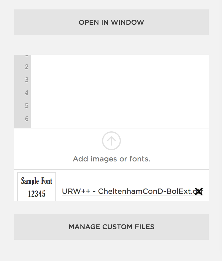 ADDING CUSTOM FONTS TO SQUARESPACE (WITHOUT TYPEKIT) — June