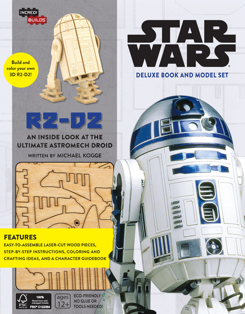 Star Wars R2 D2 Deluxe Book And Model Set Incredibuilds