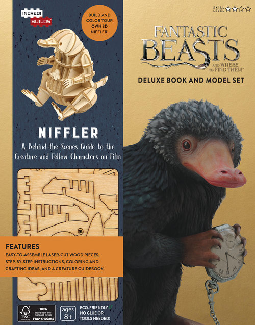fantastic beasts and where to find them book. fantastic beasts and where to find them niffler deluxe book model set a