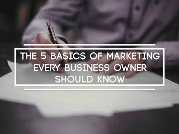 Let's get back to the basics of marketing. That's where the money is.