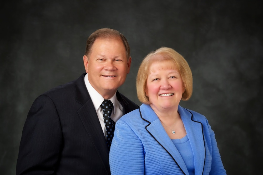 President Ronald and Sister Barbara T. Stoddard