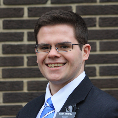 Elder Barnhill, 2015-2016