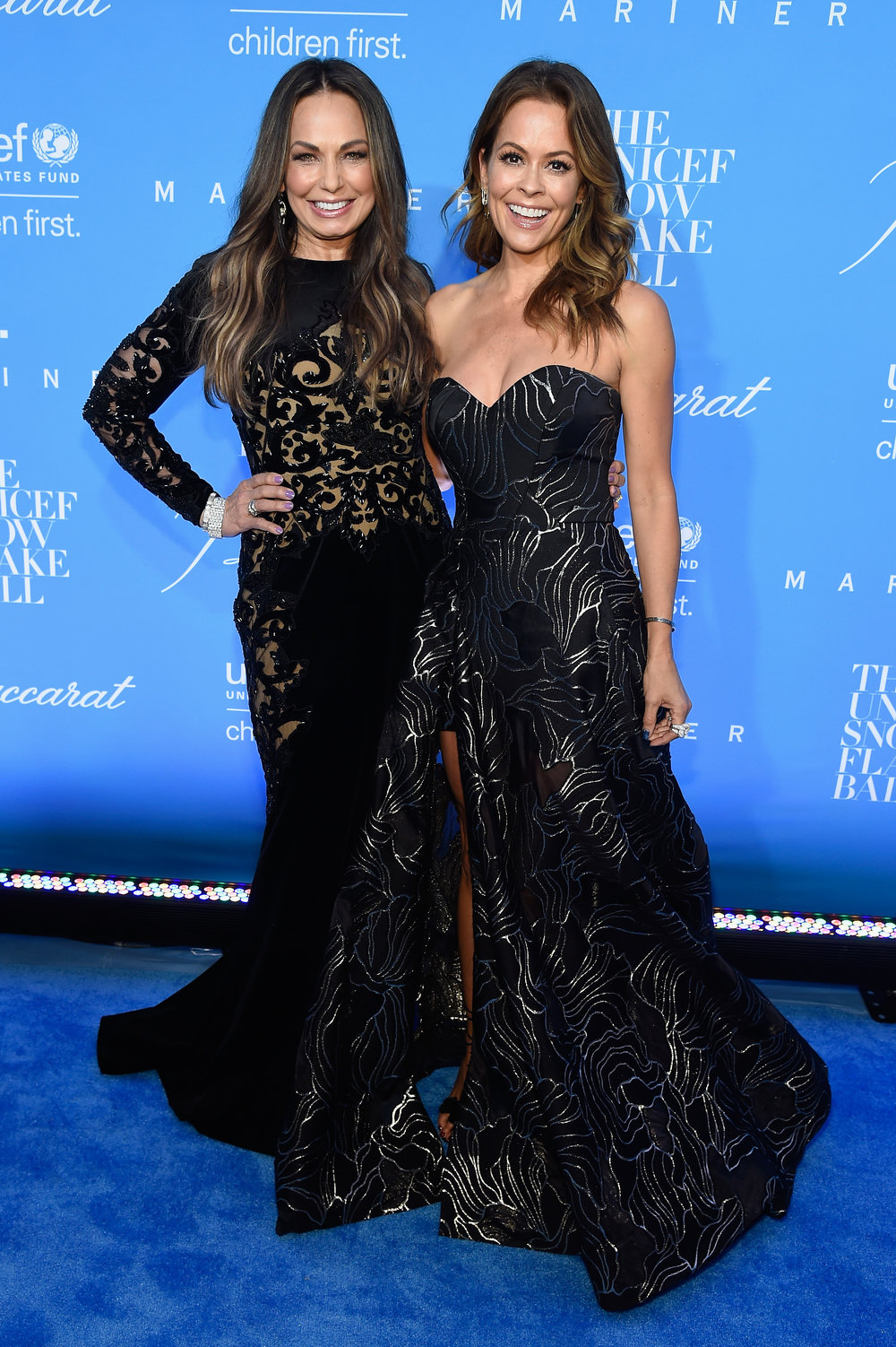 Moll Anderson and Brooke Burke-Charvet ©2016 Kevin Mazur/Getty Images for UNICEF