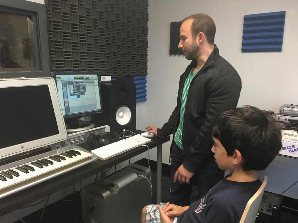 Recording lesson