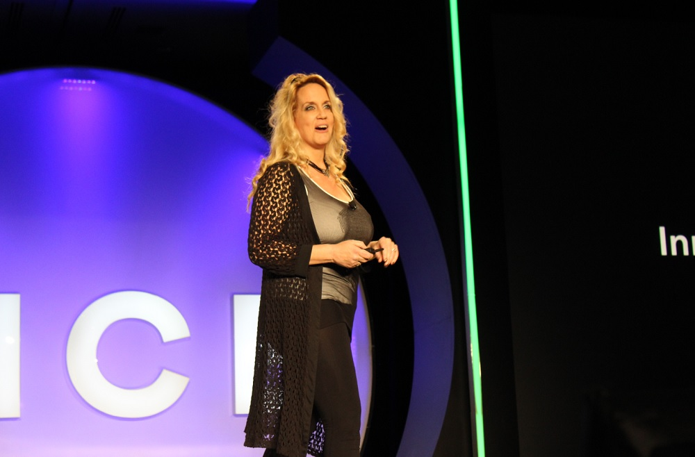 Brenda at DICE in Las Vegas (2015)