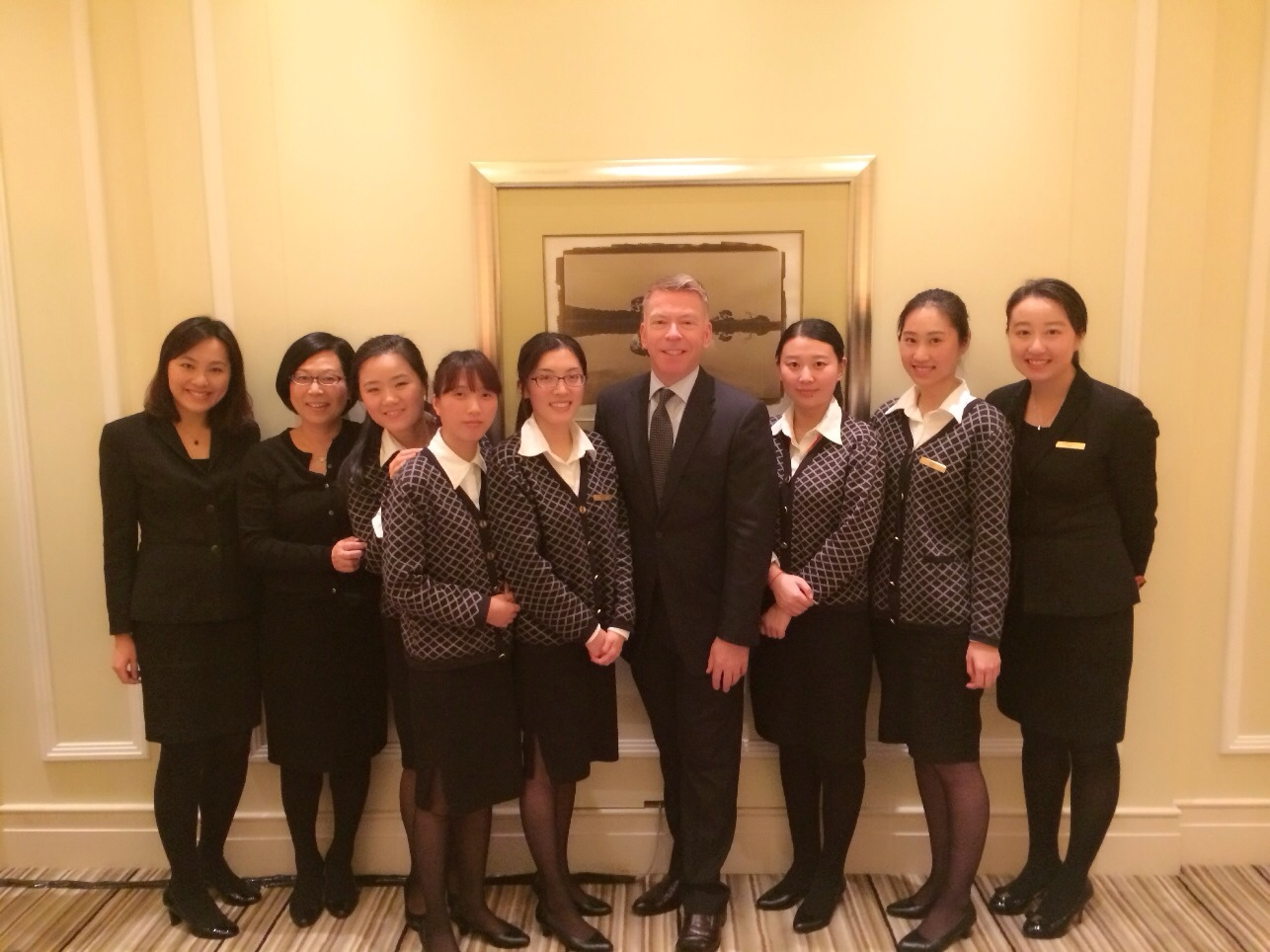 Peninsula Shanghai Reservations team with Jos
