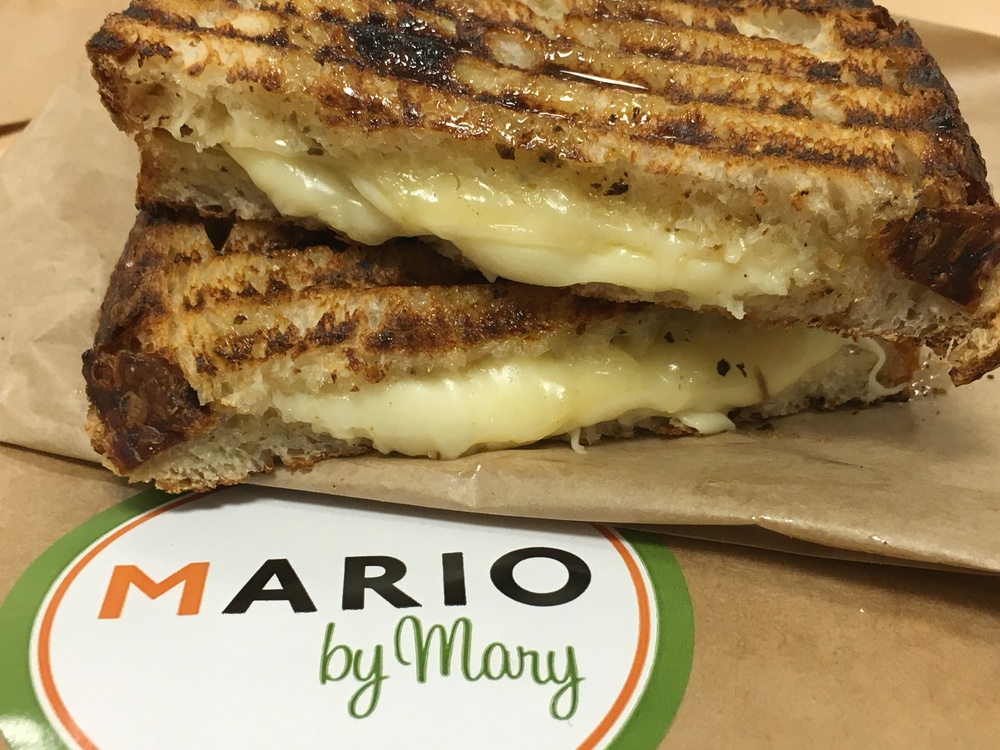 Grilled Cheese Panini with Truffle Honey