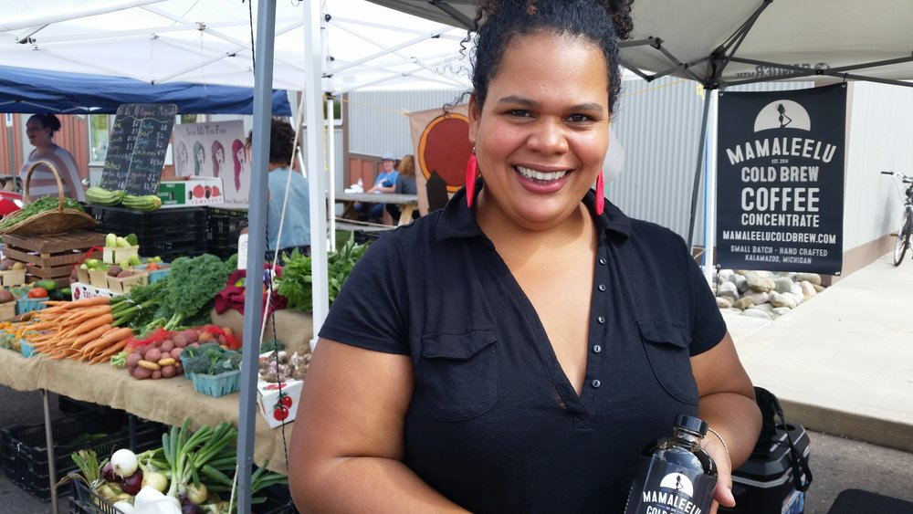 """I have grown so much working with the Can-Do Kitchen.  They have upheld me, believed in me, and given me the support I need to take the next step."" - Maliesha Pullano of Mamaleelu Cold Brew"