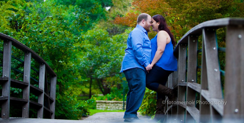 Sabbah & Chris @ Fortworth Botanical Gardens,Tx