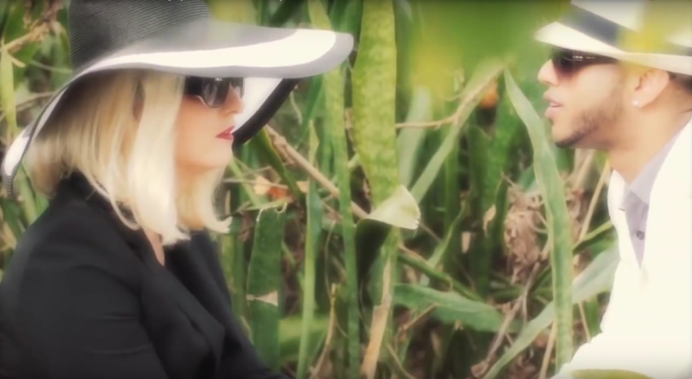 "Still from ""Nature Boy"" music video"