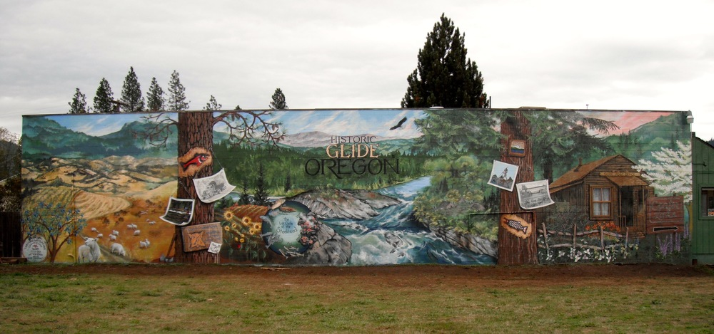 GLIDE, OR   COMMUNITY MURALS    Learn more